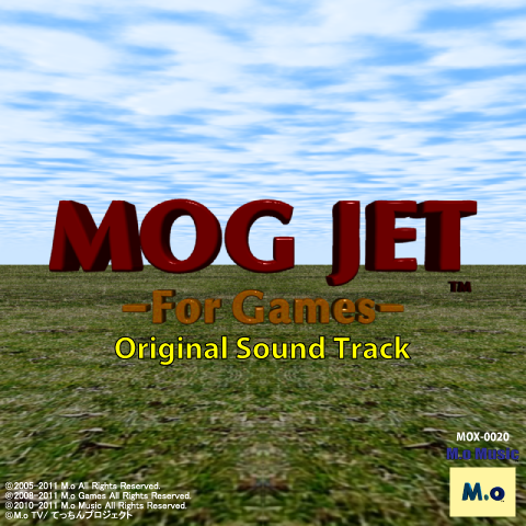 MOG JET -For Games- Original Sound Track ジャケット